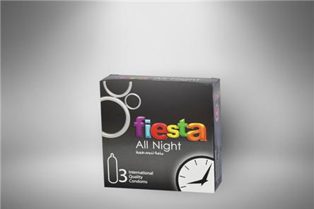 The best and safest way for delay, Fiesta all night lubricated by a gel dedicated for delay without missing the fun feeling during the intercourse, Fiesta All Night allows you to enjoy a longer intimate relation, safer and more fun.